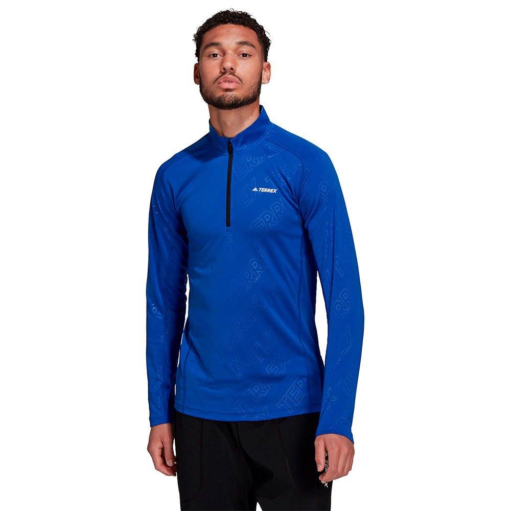 Adidas T-shirt Manches Longues Tracero L Bold Blue
