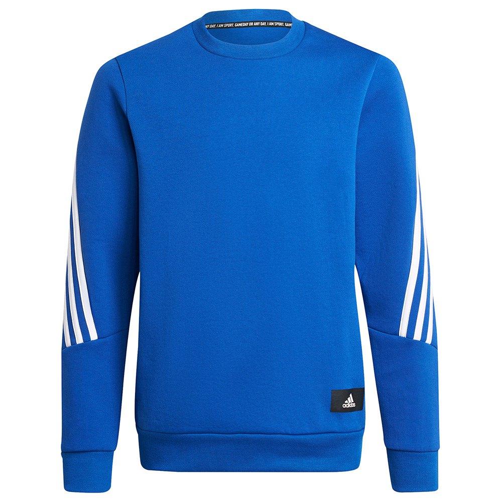 Adidas Sweatshirt Fi 3 Striker 116 cm Bold Blue / White