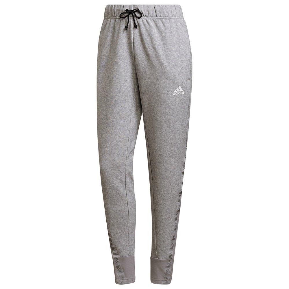 Adidas Pantalons Motion S Medium Grey Heather
