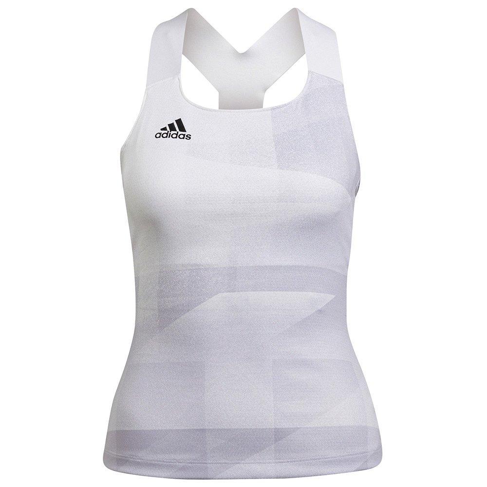 Adidas Débardeur Pb Hr L White / Dash Grey / Black