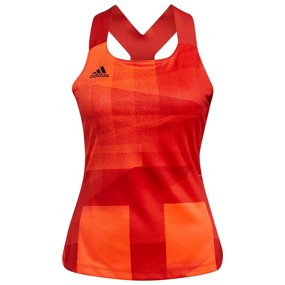 Adidas Débardeur Pb Hr M App Solar Red / Black