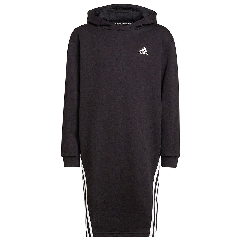 Adidas Sweat À Capuche Fi 3 Striker 116 cm Black / White