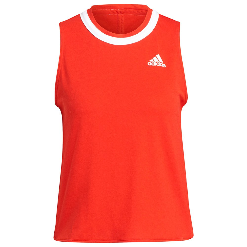 Adidas Débardeur Club XS Vivid Red / White