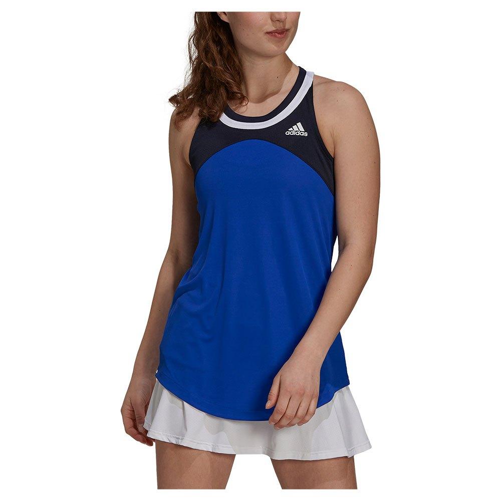 Adidas Débardeur Club XS Bold Blue / Legend Ink / White