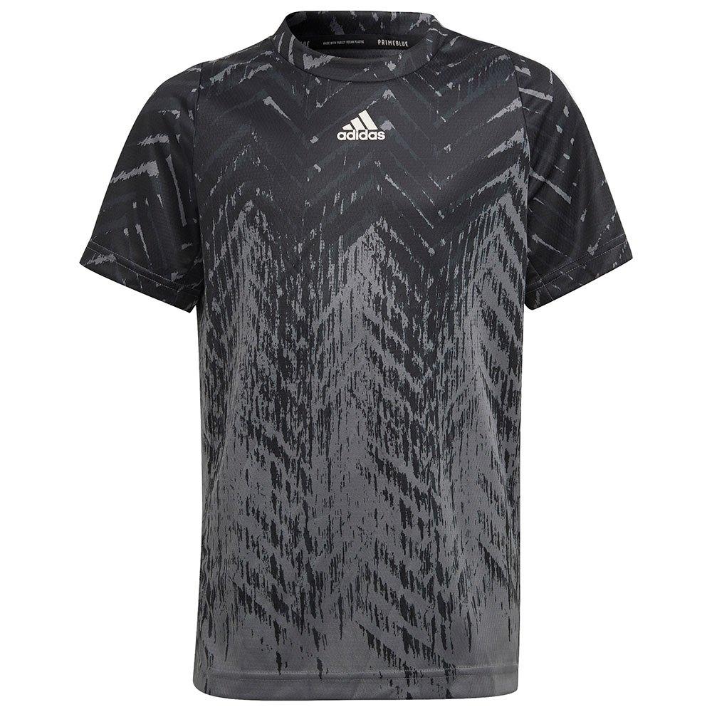 Adidas T-shirt Manche Courte Fl Printed 152 cm Black