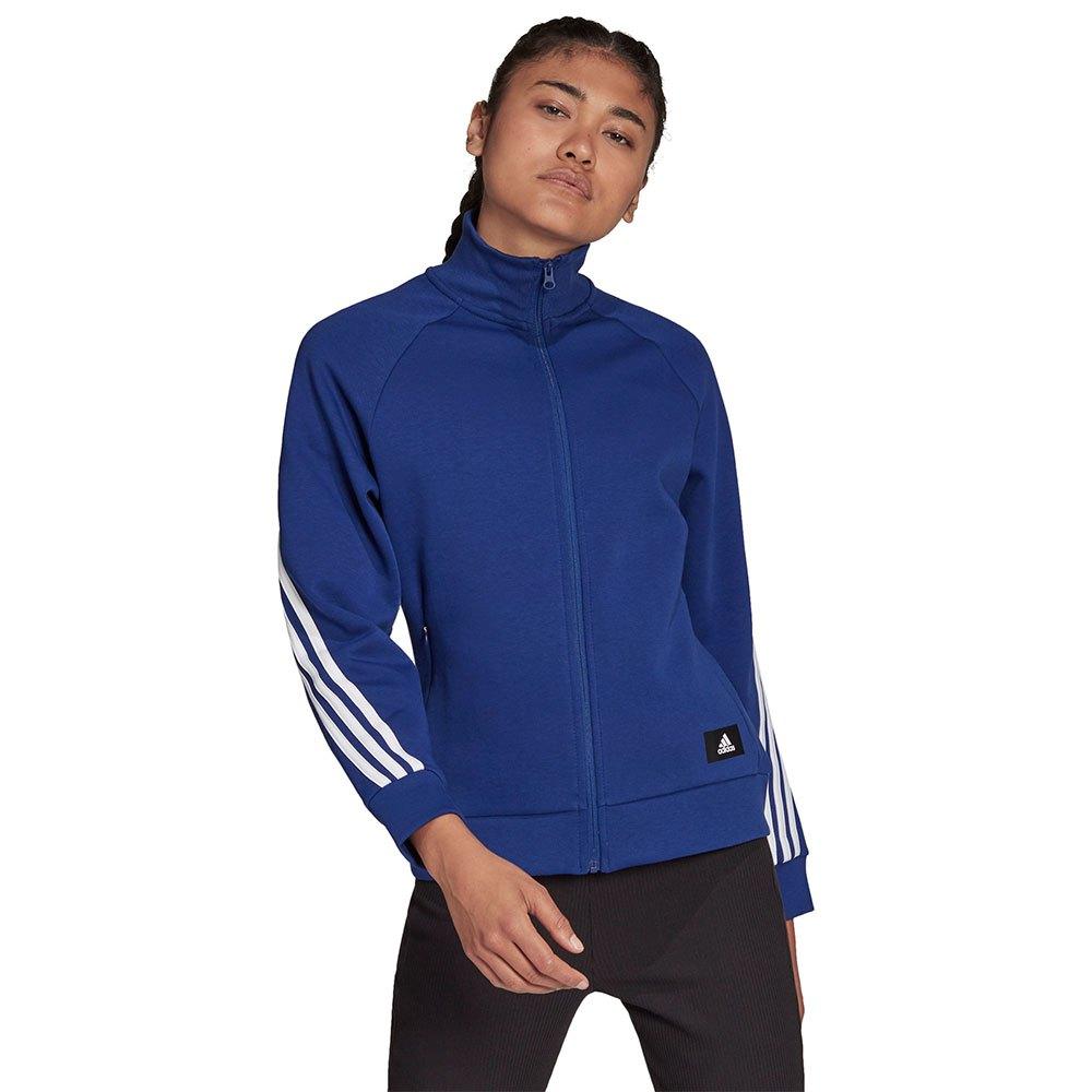 Adidas Sweatshirt Fi 3 Stripes S Victory Blue