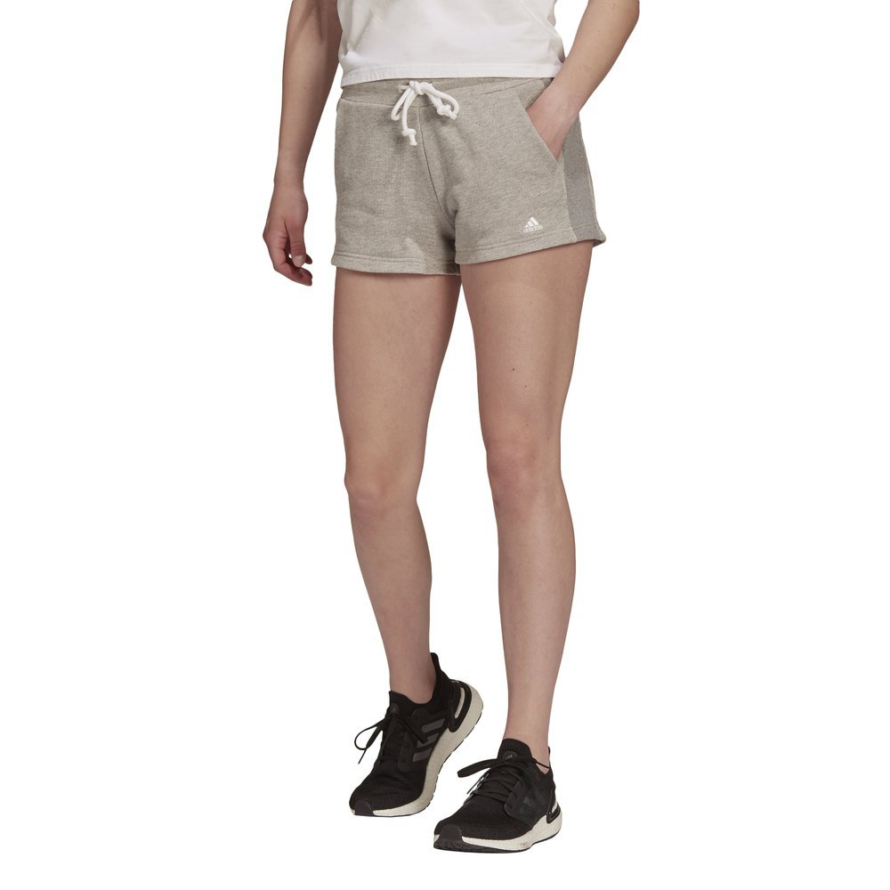 Adidas Les Shorts Fi St L Medium Grey Heather