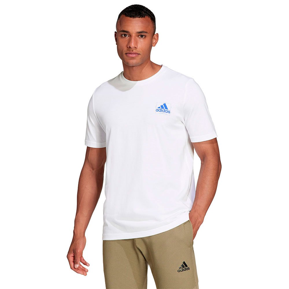 Adidas T-shirt Q4 Blueprin S White