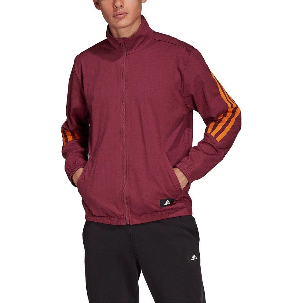 Adidas Sweatshirt Fi Woven XS Victory Crimson