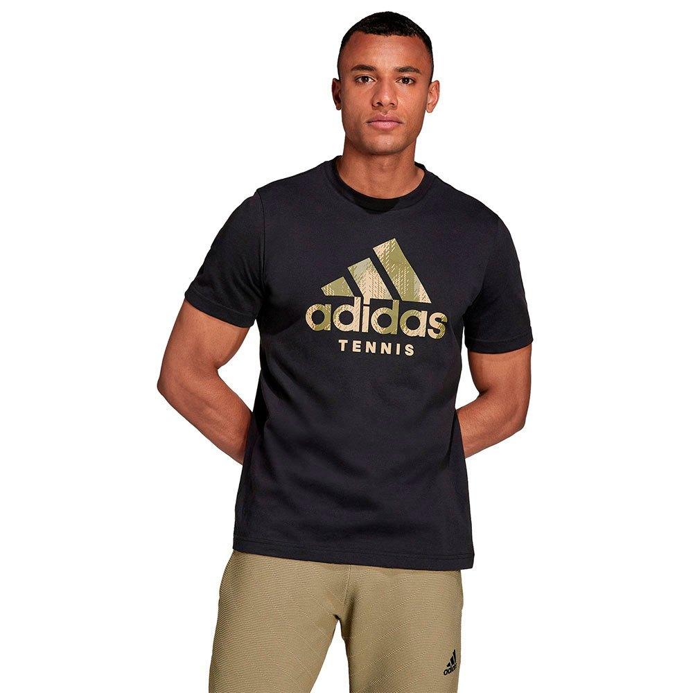 Adidas T-shirt Cat Camo L Black