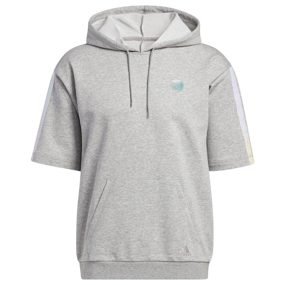 Adidas Sweat À Capuche Donovan Mitchell XXXXL Medium Grey Heather