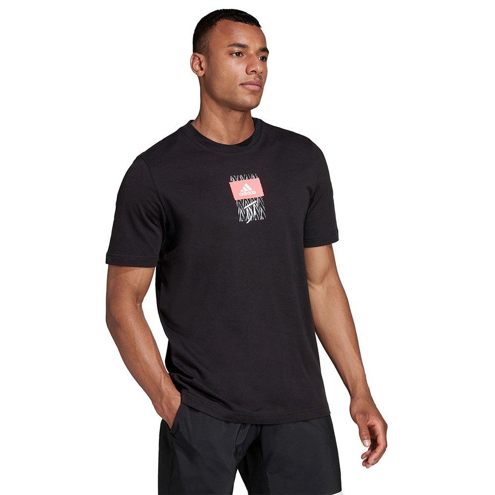 Adidas T-shirt Dt 90s S Black
