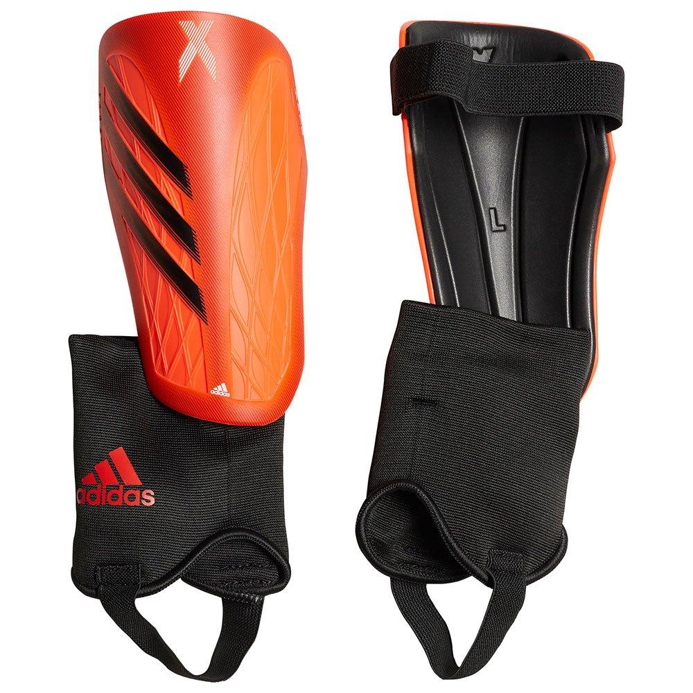Adidas Protège-tibias X Sg Match S Solar Red / White / Solar Yellow / Black