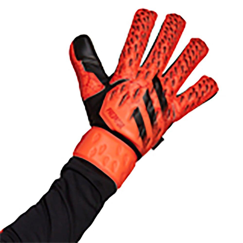 Adidas Gants Gardien Predator Match Fingersave 10 Solar Red / Red / Black