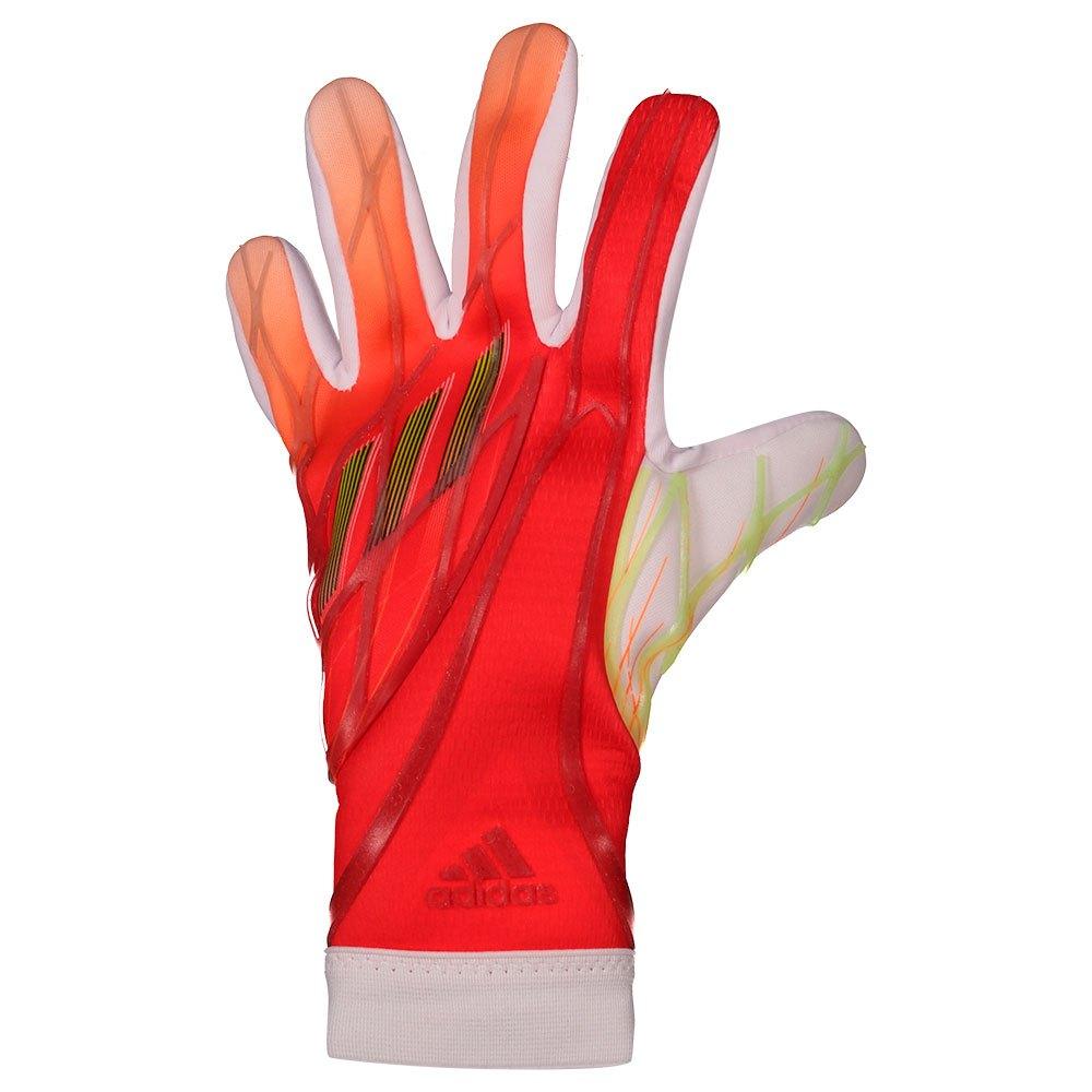 Adidas Gants Gardien X Pro Junior 4 Solar Red / White / Red / Solar Yellow / Black