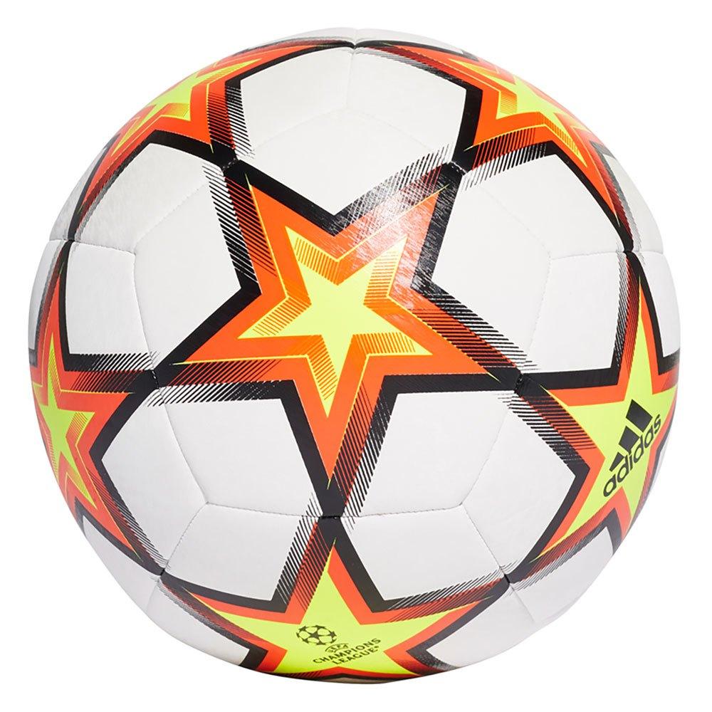 Adidas Ballon Football Ucl Training 5 White / Solar Red / Solar Yellow / Black