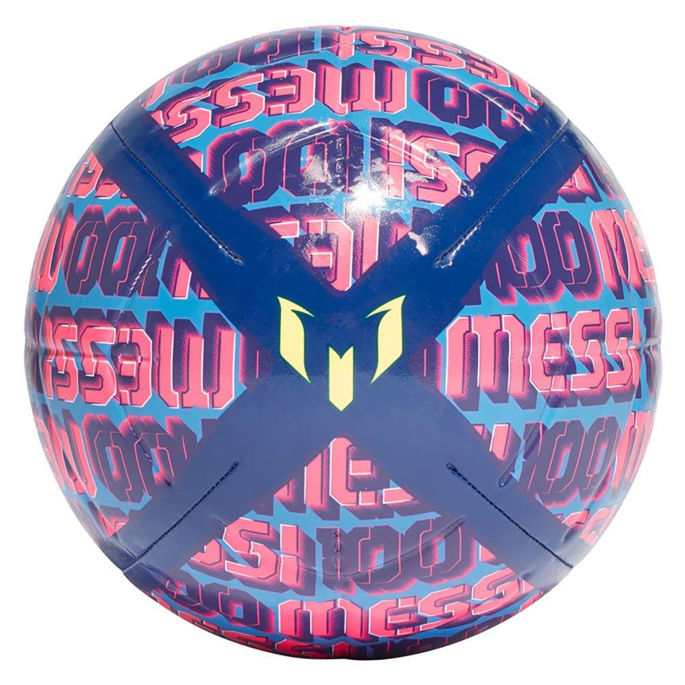 Adidas Ballon Football Messi Club 4 Victory Blue / Focus Blue / Shock Pink / Solar Yellow