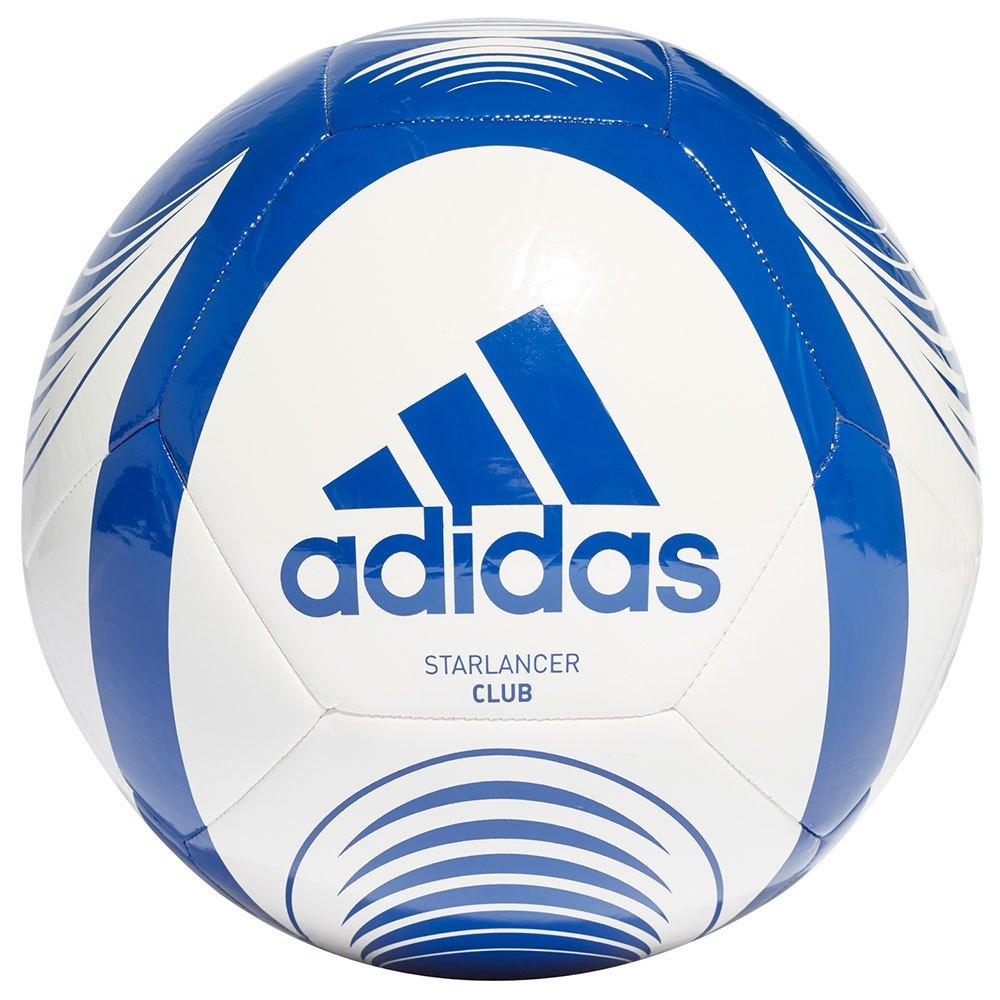 Adidas Ballon Football Starlancer Club 3 White / Team Royal Blue