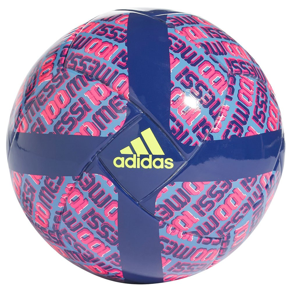 Adidas Ballon Football Messi Mini 1 Victory Blue / Focus Blue / Shock Pink / Solar Yellow / White