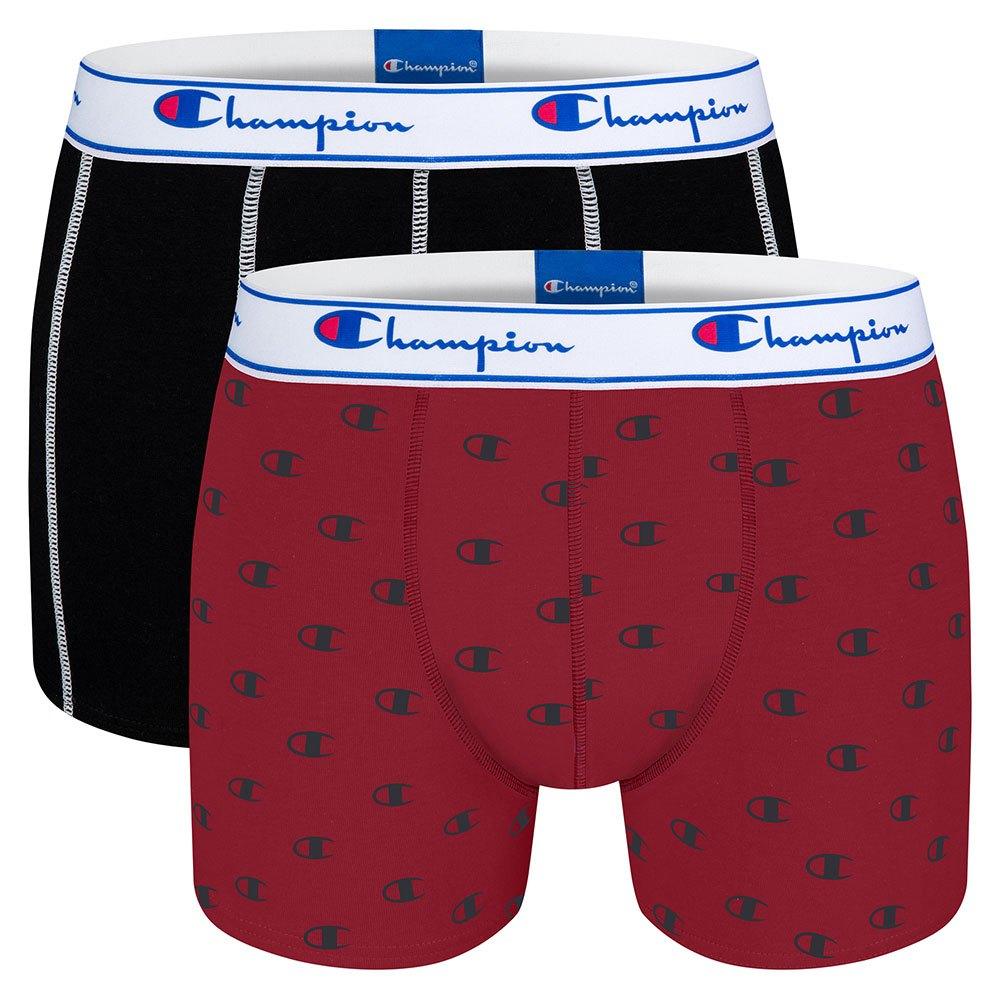 Champion Boxers Mix 2 Unités S Red / Black