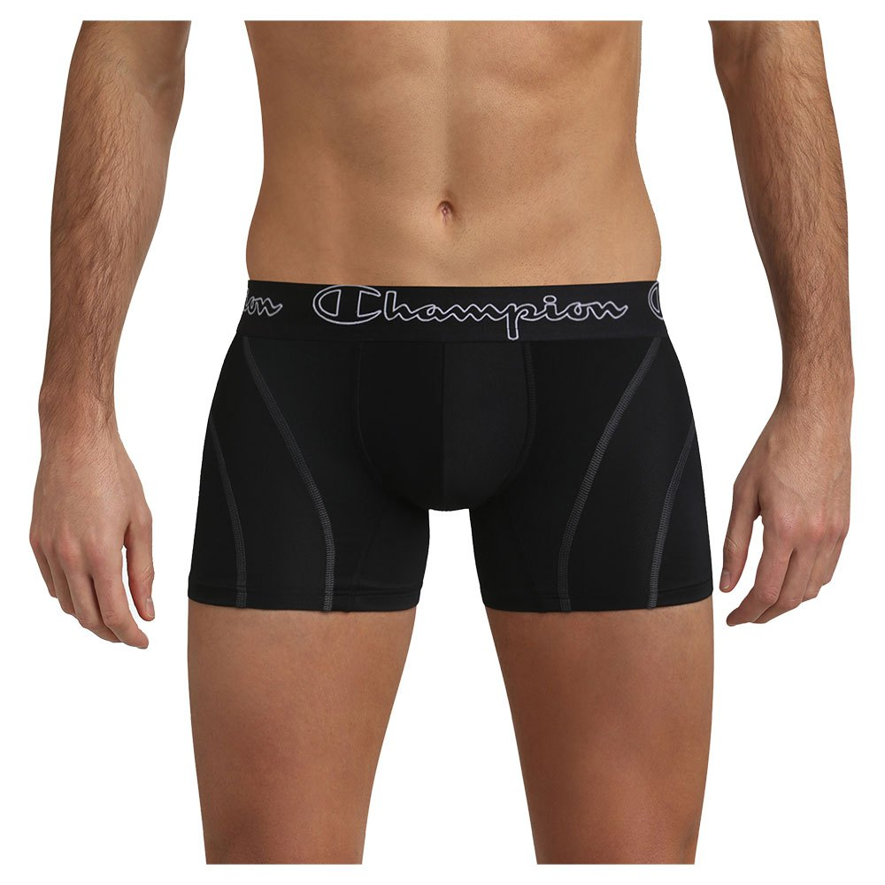 Champion Boxers Cool Air S Black