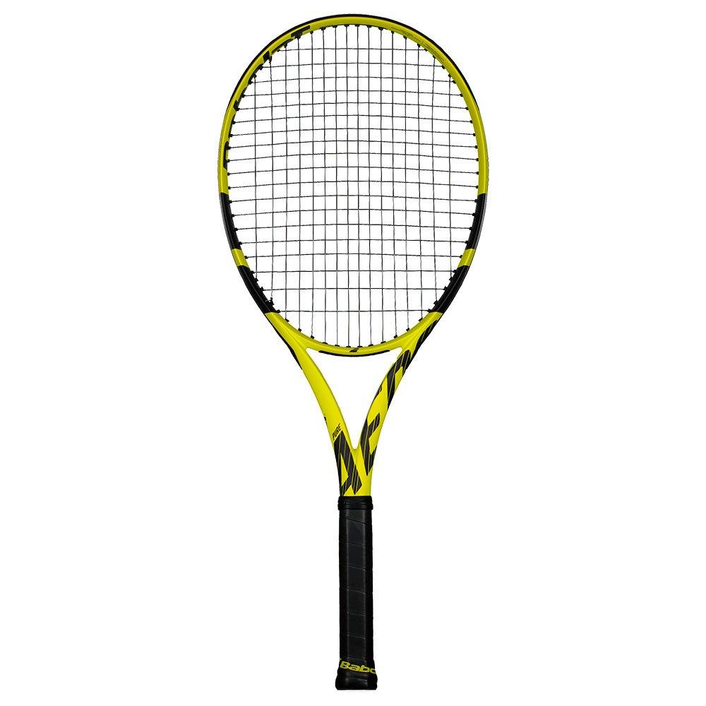 Babolat Raquette Tennis Test Pure Aero 2 Yellow / Black
