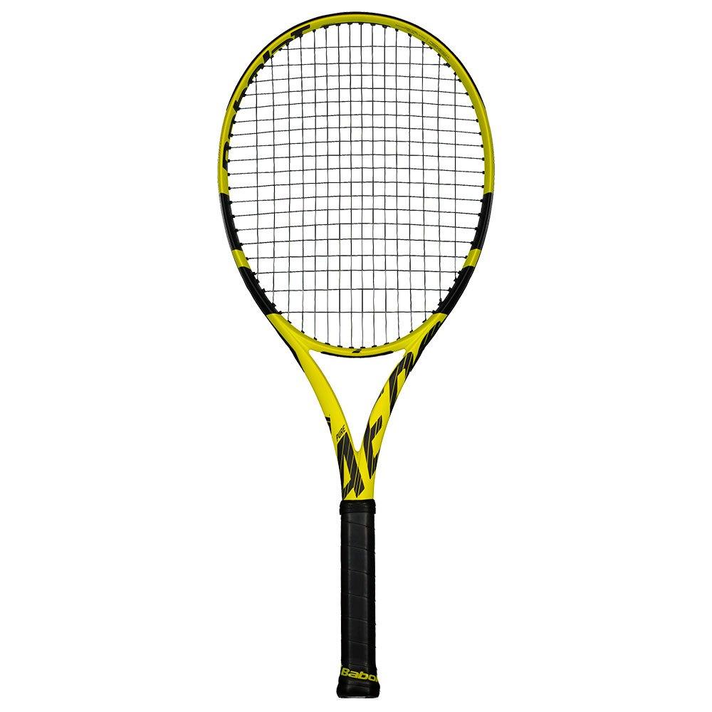 Babolat Raquette Tennis Test Pure Aero Team 2 Yellow / Black