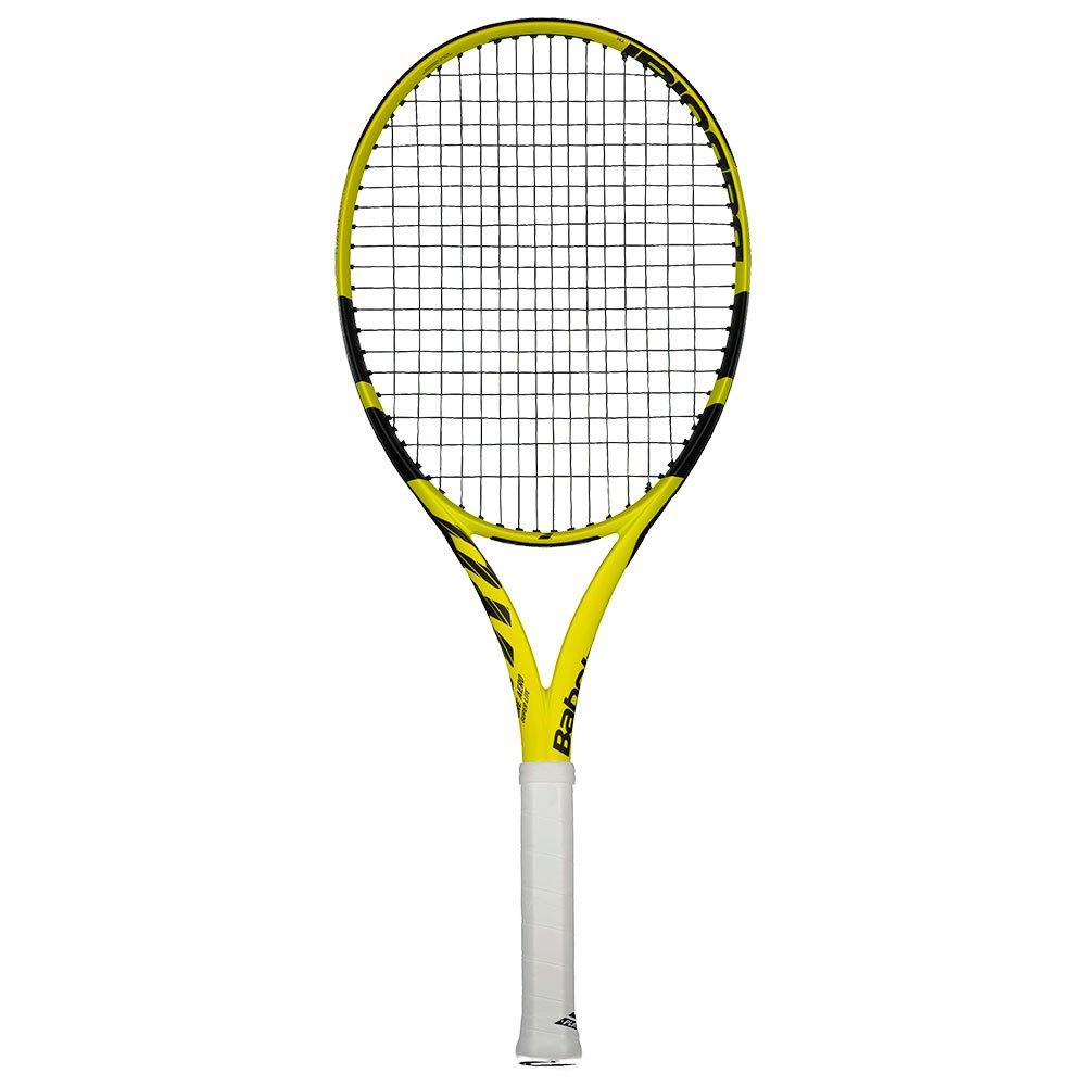 Babolat Raquette Tennis Test Pure Aero Super Lite 2 Yellow / Black / Black