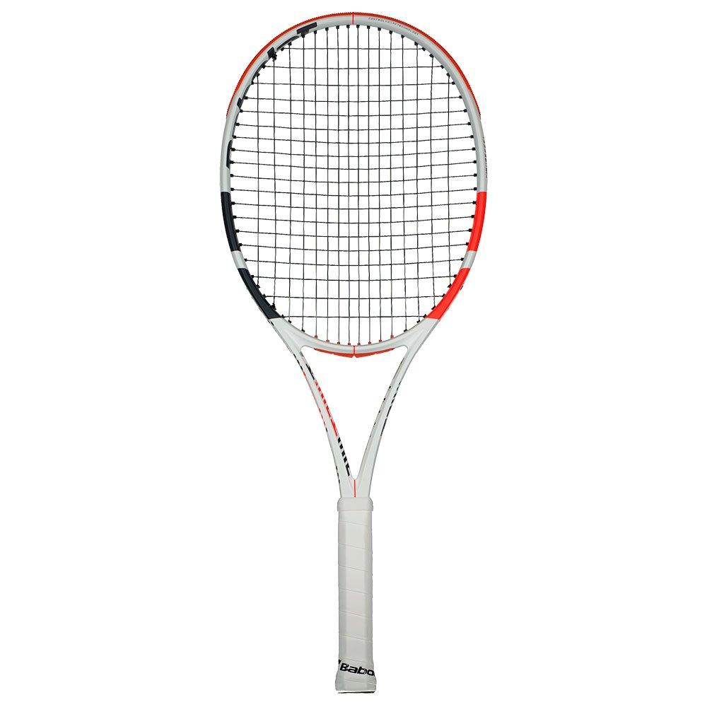 Babolat Raquette Tennis Test Pure Strike 100 2 White / Red / Black