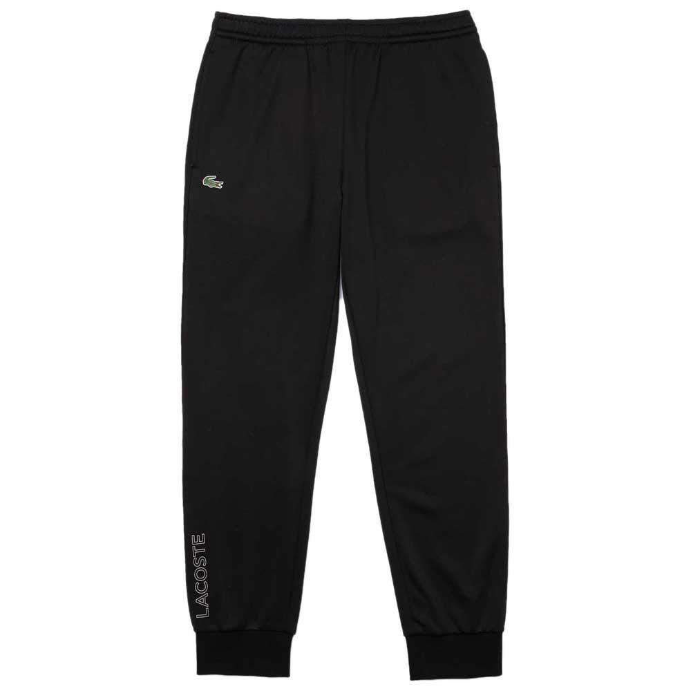 Lacoste Pantalon De Survêtement Xh6781 S Black / Black