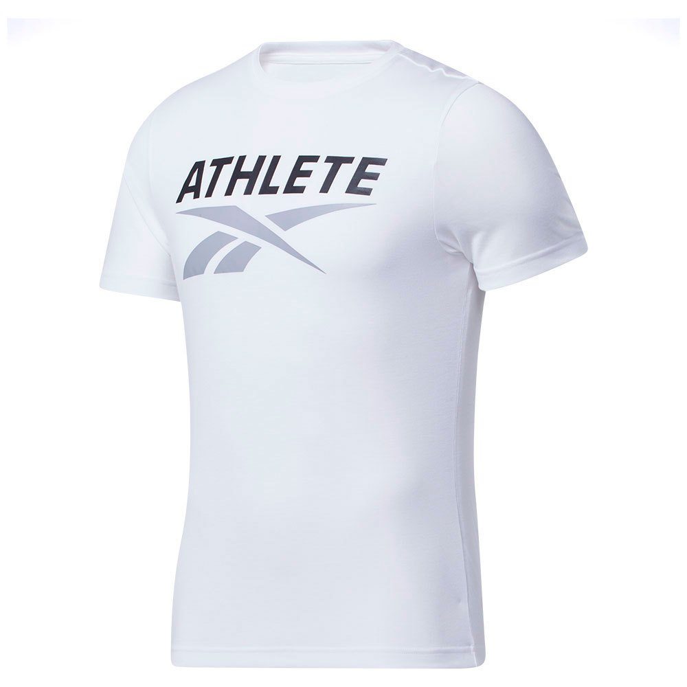 Reebok T-shirt Manche Courte Athlete XL White