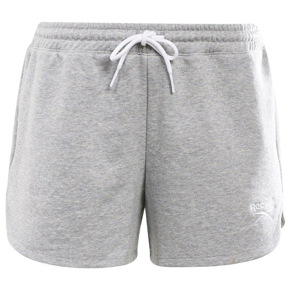 Reebok Les Shorts Ri French Terry L Medium Grey Heather / White