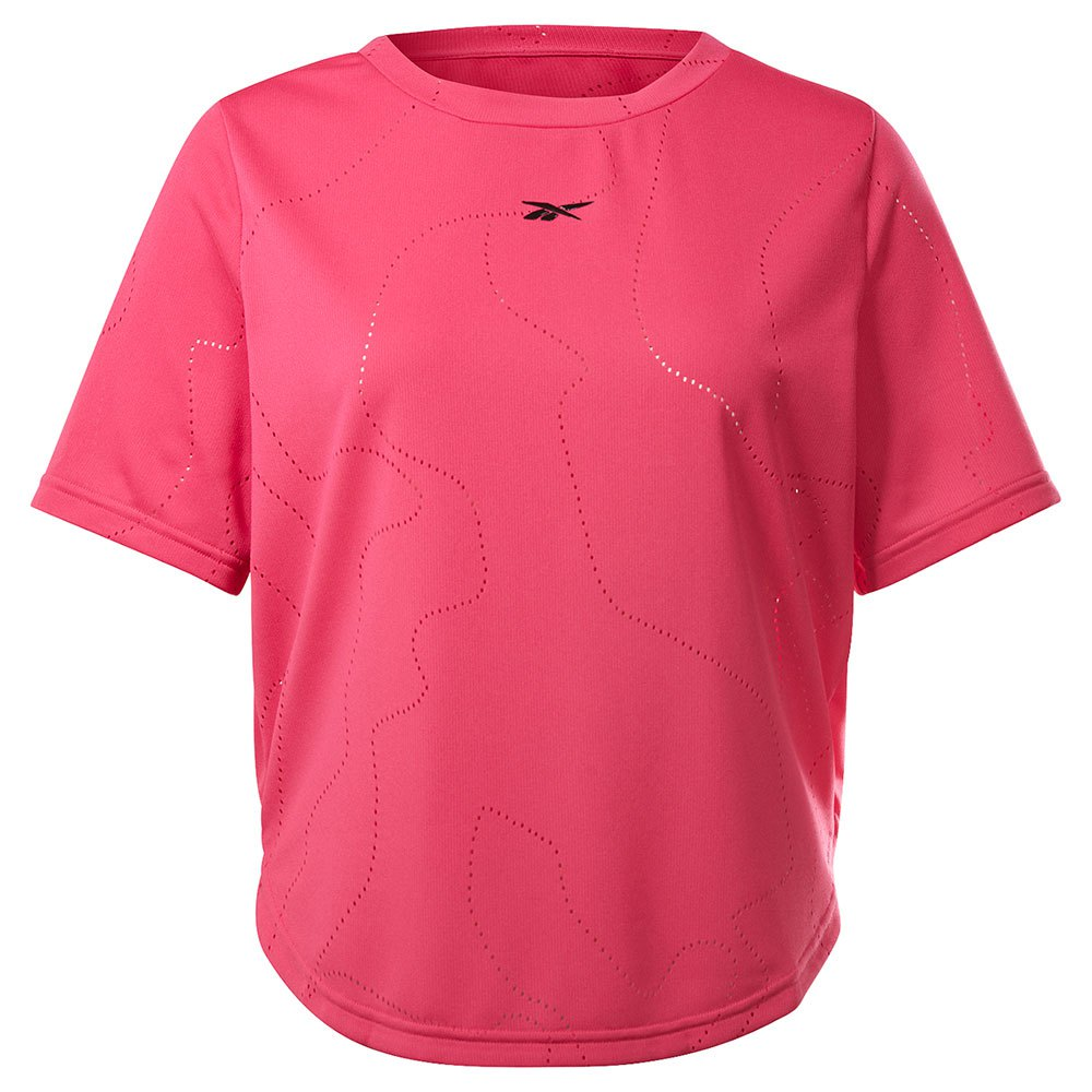 Reebok T-shirt Manche Courte Ubf Perforated M Pursuit Pink