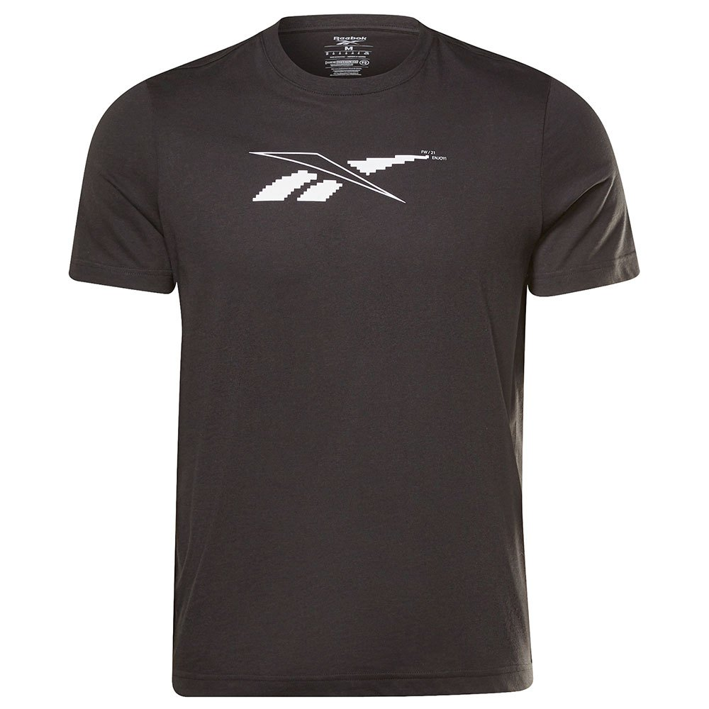 Reebok T-shirt Manche Courte 60/40 Road Trip S Black