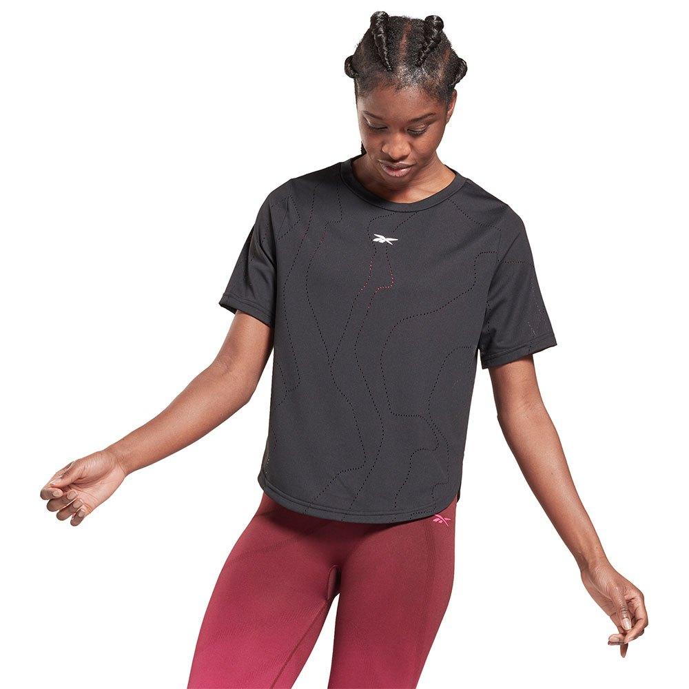 Reebok T-shirt Manche Courte Ubf Perforated M Black