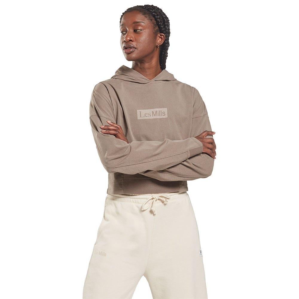 Reebok Sweatshirt Les Mills Nat Dye Lw Midlay S Boulder Grey