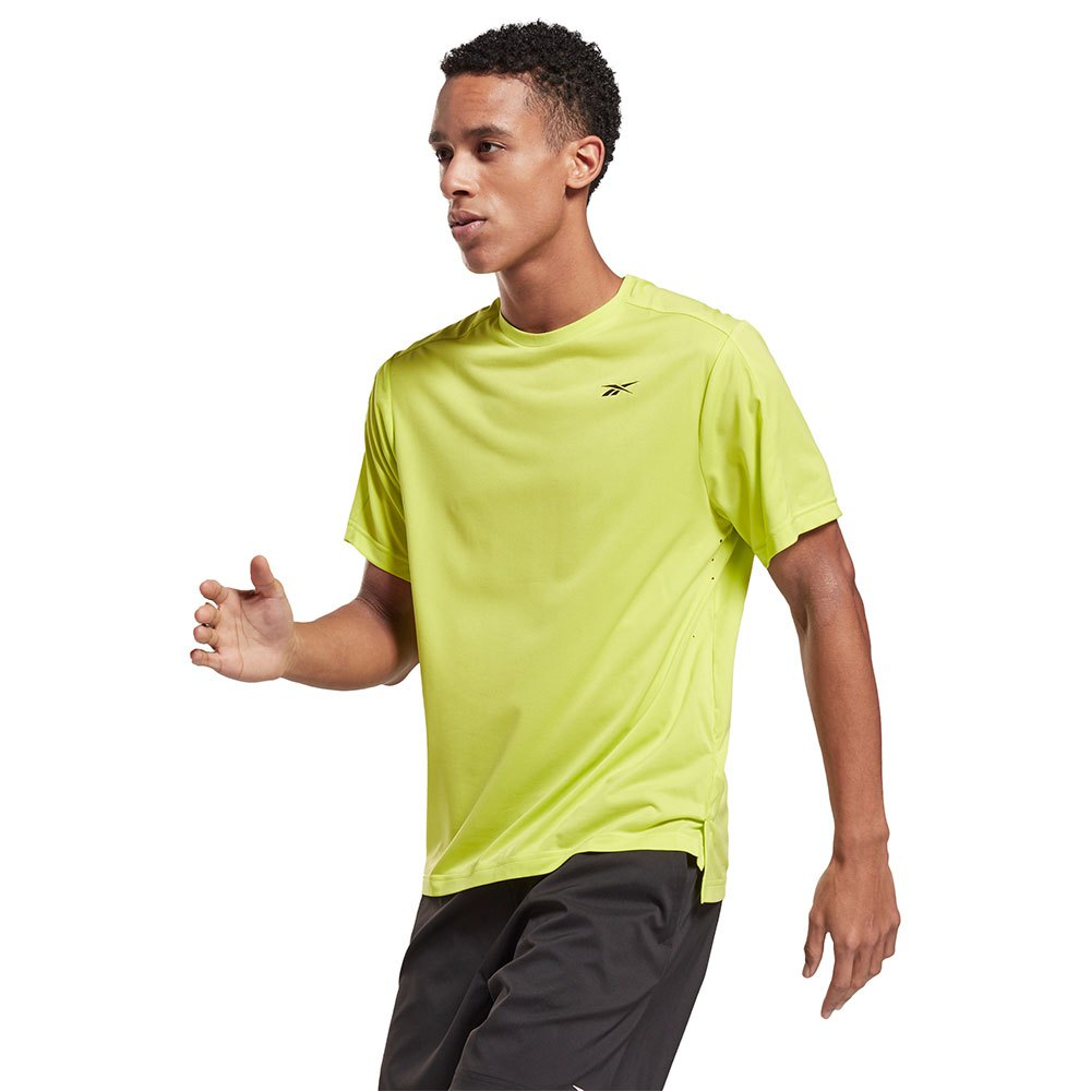 Reebok T-shirt Manche Courte Ubf Perforated S Acid Yellow