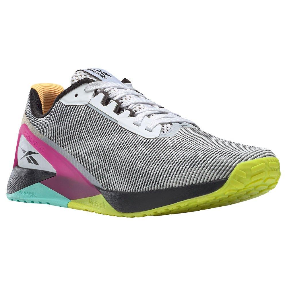 Reebok Zapatillas Nano X1 Grit EU 45 Ftwr White / Core Black / Pursuit Pink