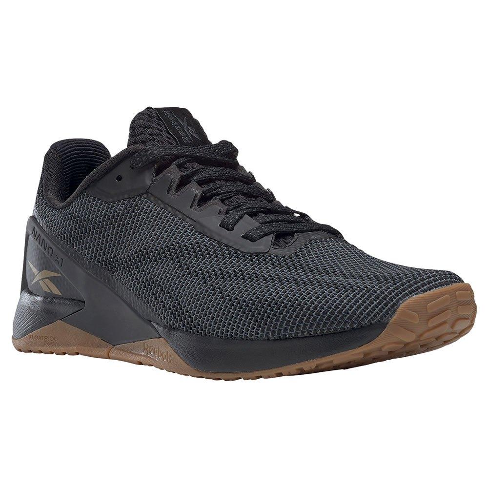 Reebok Zapatillas Nano X1 Grit EU 40 Core Black / Pure Grey 7 / Sepia