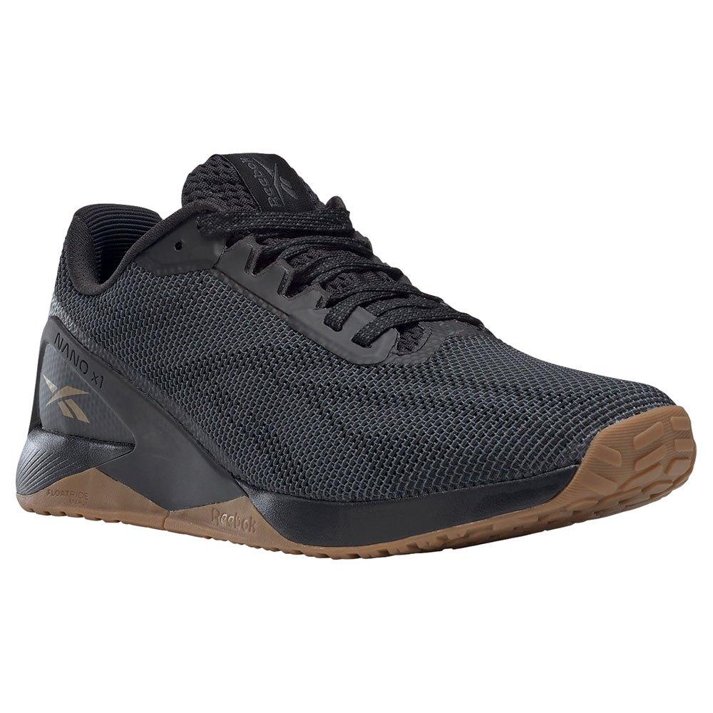 Reebok Zapatillas Nano X1 Grit EU 40 1/2 Core Black / Pure Grey 7 / Sepia