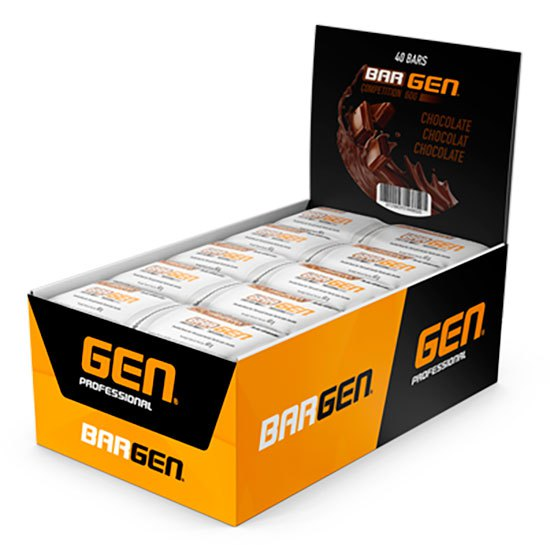 Gen Bar Bargen Competition 60g 40 Unités Chocolat One Size White