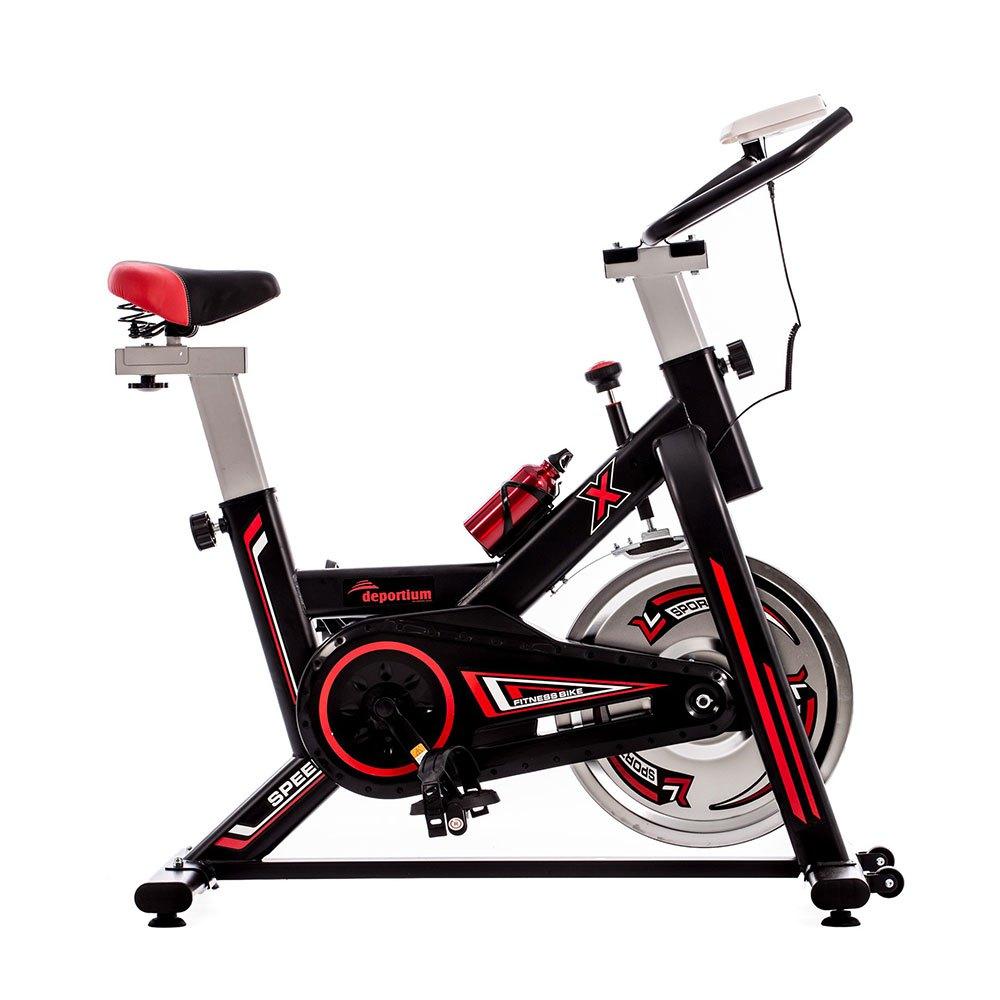 Deportium Vélo Indoor Xblack One Size Black / Red