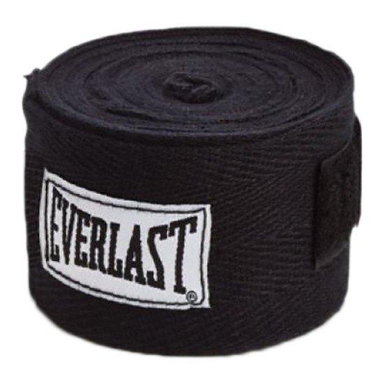 Everlast Bandage Hand Wrap 120´´ One Size Black