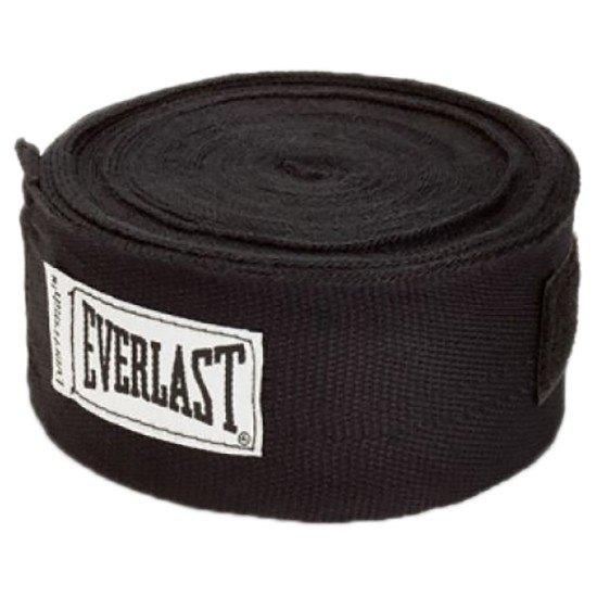 Everlast Bandage Hand Wrap 180´´ One Size Black