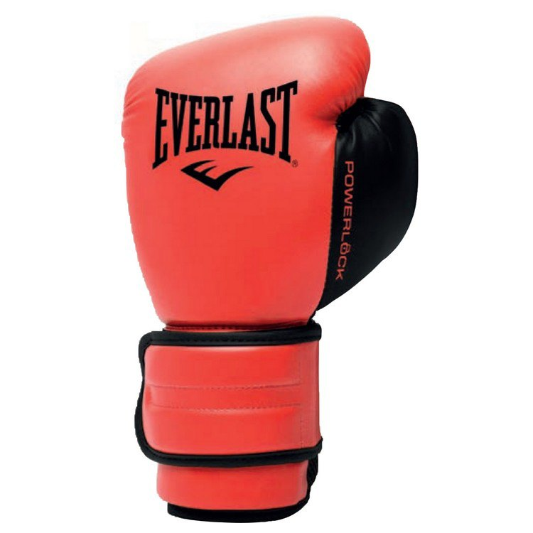 Everlast Gants D´entraînement Powerlock 2r 10 Oz Red
