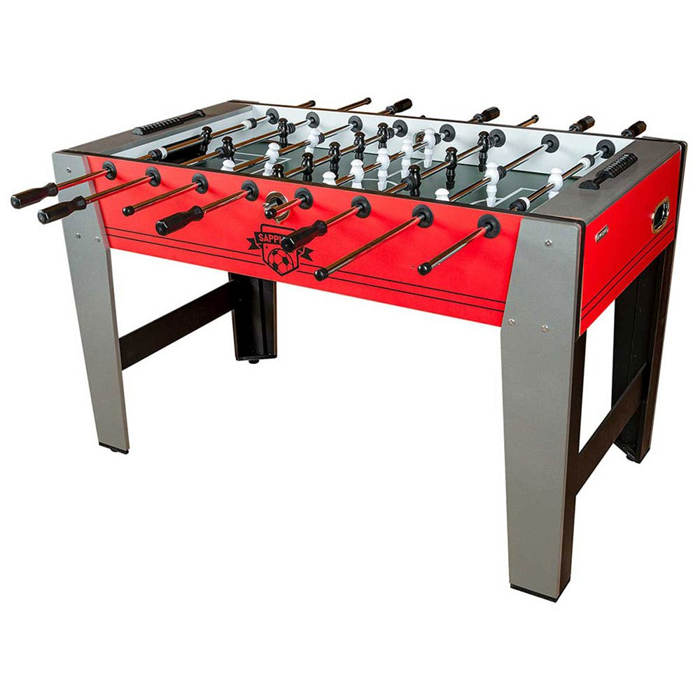 Devessport Table Baby Foot Économique Rouge Saphir +14 Years Red / Grey