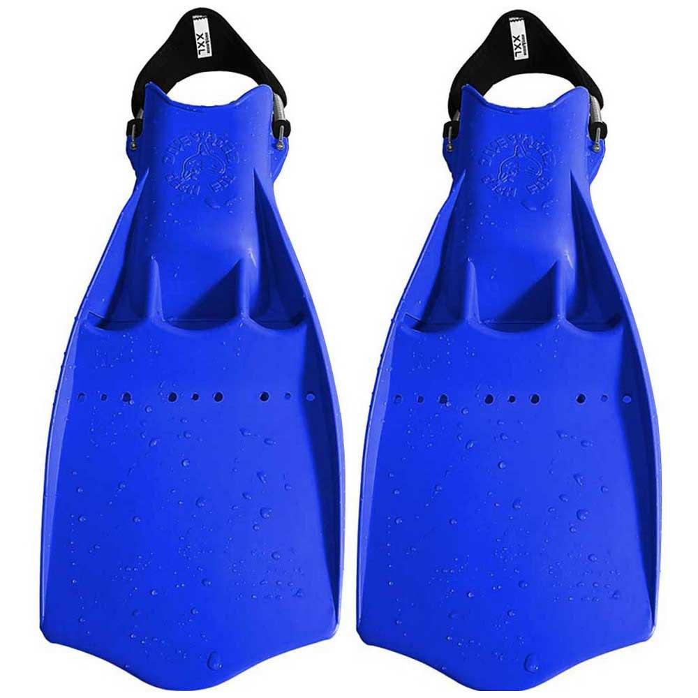 Dive System Tech Taucherflossen EU 40-41 Blue Einstellbare Flossen Tech Taucherflossen