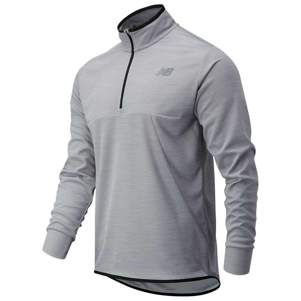 New Balance Sweatshirt Tenacity L Athletic Grey Heather