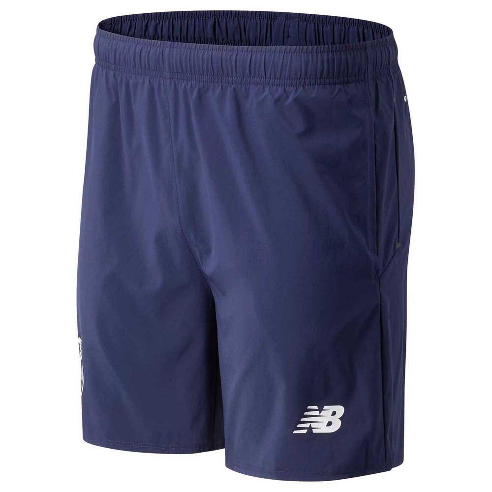 New Balance Pantalons Courts Fc Porto 21/22 Woven S Navy