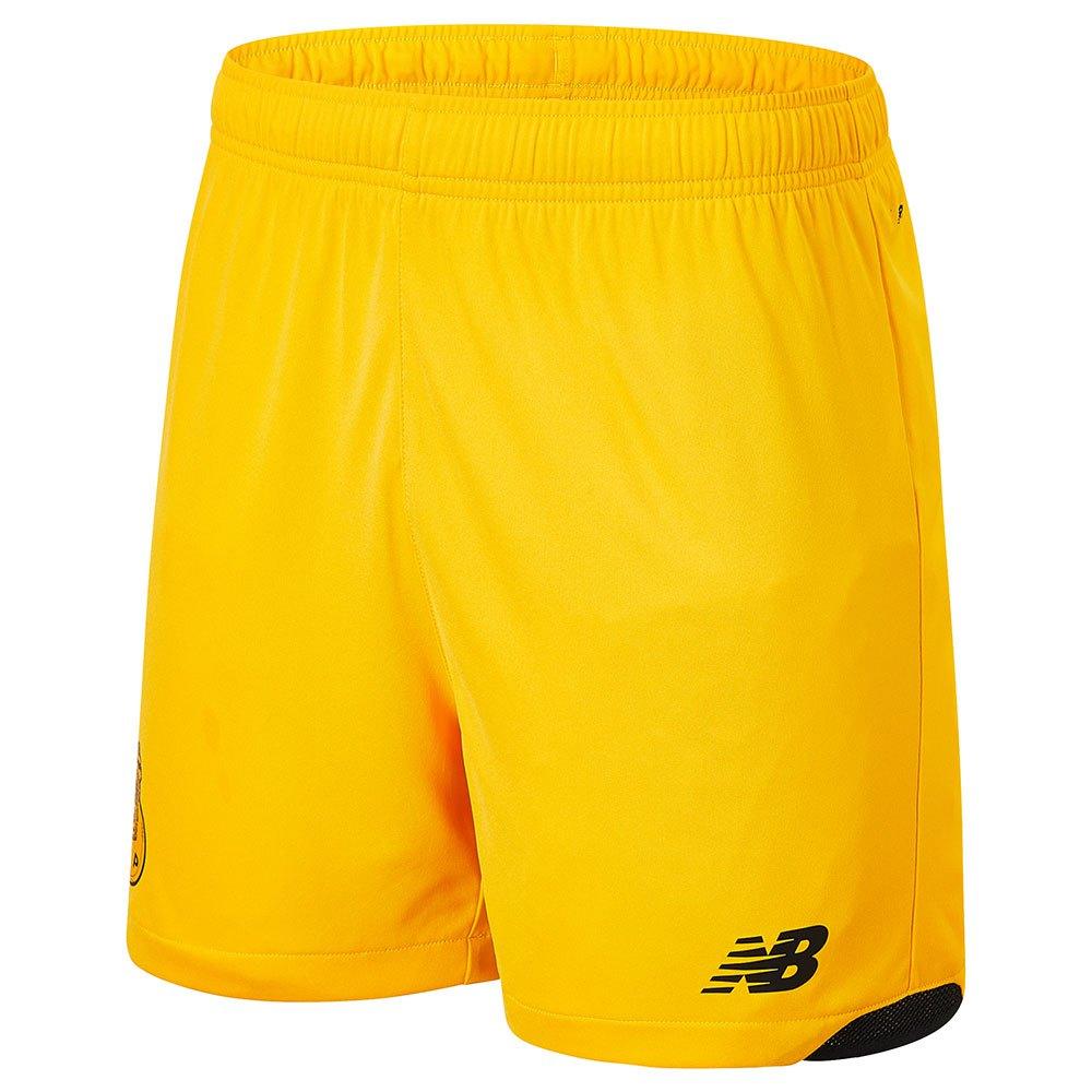 New Balance Pantalons Courts Fc Porto 21/22 Extérieur Gardien L Saffron